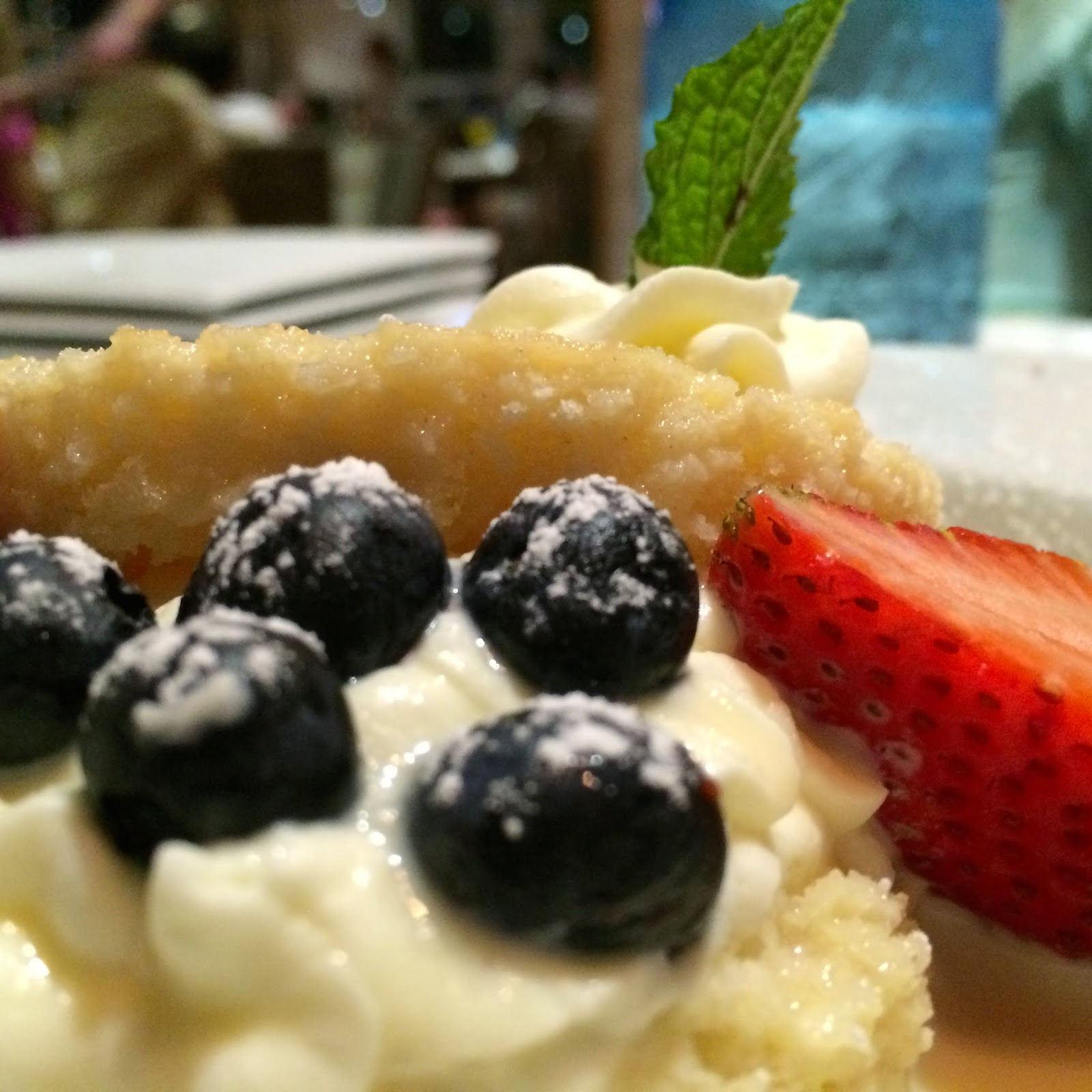 Tres Leches Cake topped with local Berries