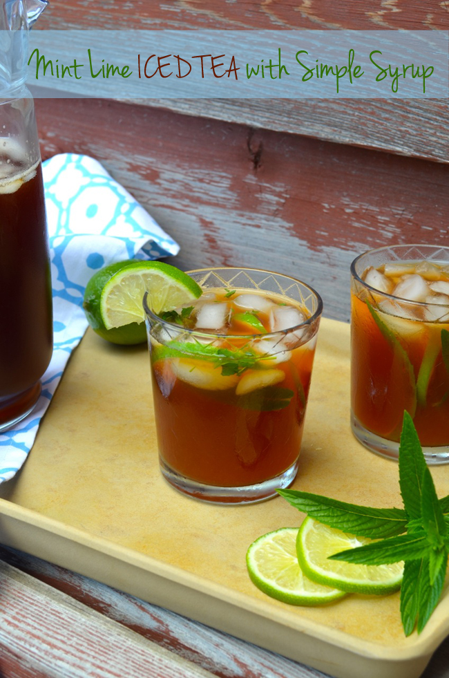 how to make simple syrup for iced tea