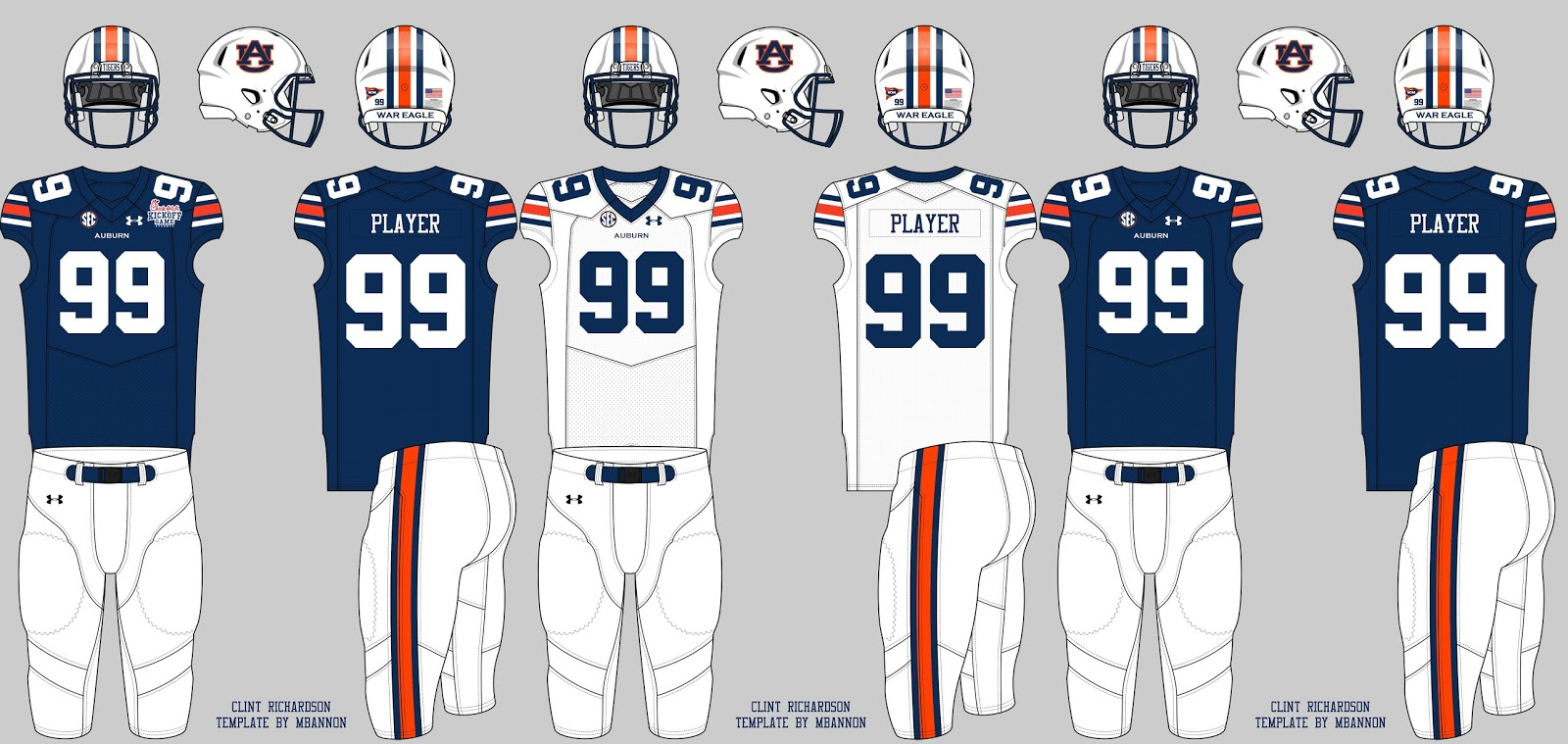 the guessing game guessing auburn s opponent s uniforms auburn
