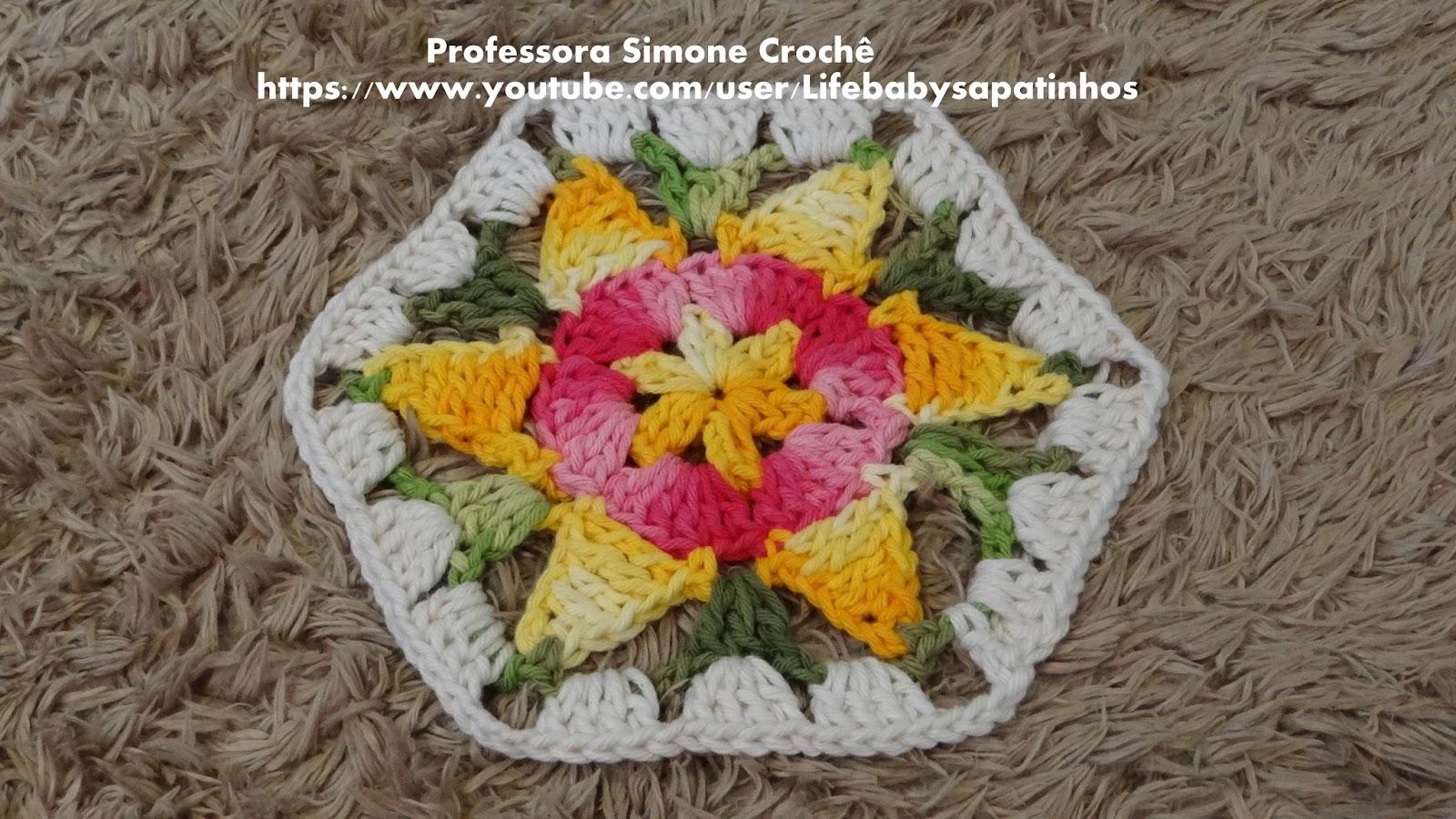 Professora Simone Crochê