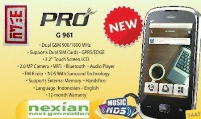 Nexian NX-G961 Pro