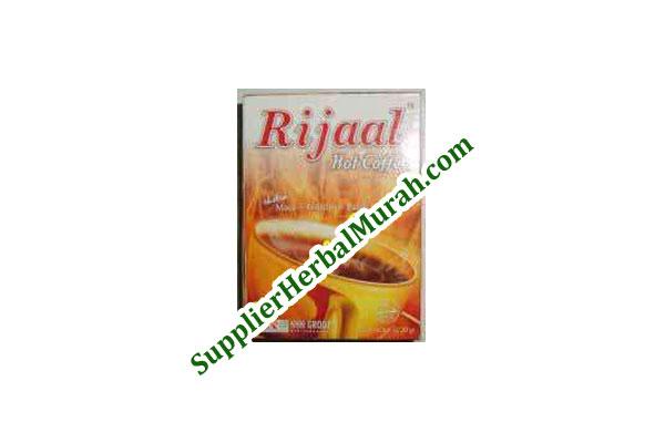 Rijaal Hot Coffee (Ekstra Maca + Tribulus + Pasak Bumi)