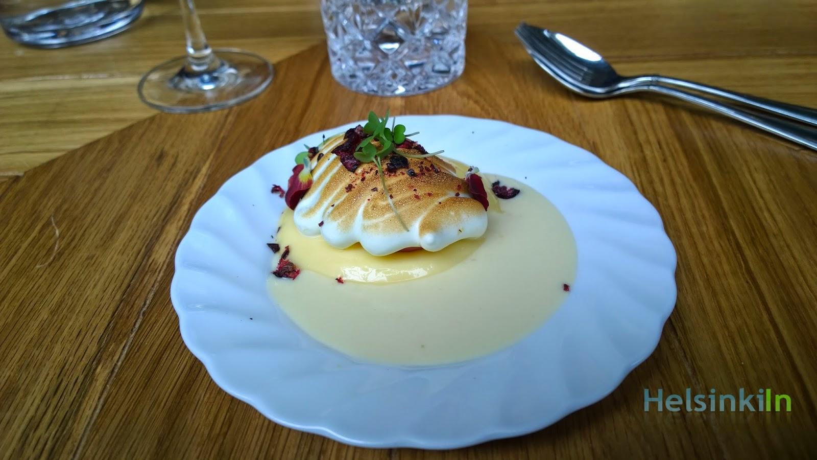 dessert at Bronda