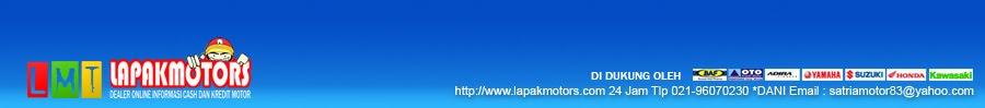 KREDIT MOTOR ATAU CASH Yamaha,Suzuki,Honda,secara online