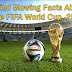 Mind Blowing Facts About The FIFA World Cup, 2014