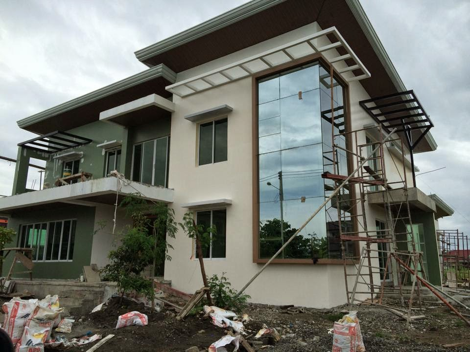 Westwood subd house construction project in mandurriao Sample interior design for small house