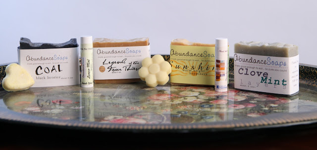 All natural brand Abundance Soap Handmade Products