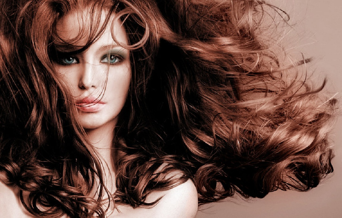 El óleo etérico el sándalo de los cabello
