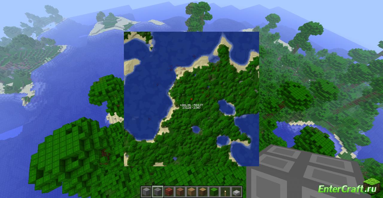 скачать rein minimap для minecraft 1.7.10 #5