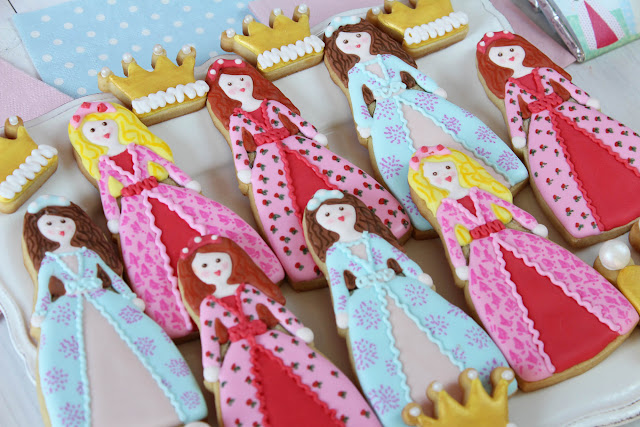 Galletas de princesas