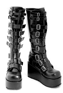 Platform Boots Demonia