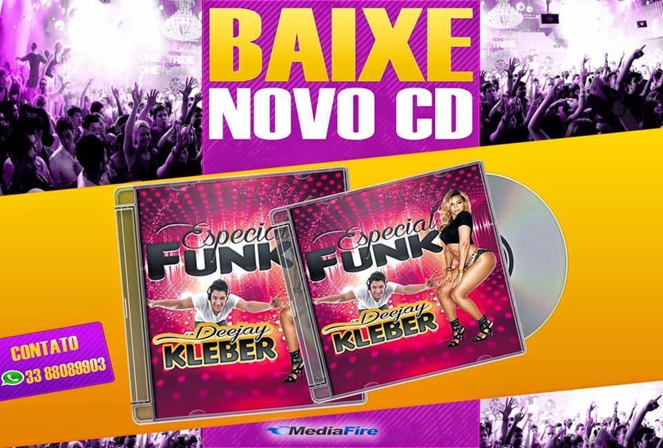 CD ESPECIAL DE FUNK OFICIAL - DJ KLEBER