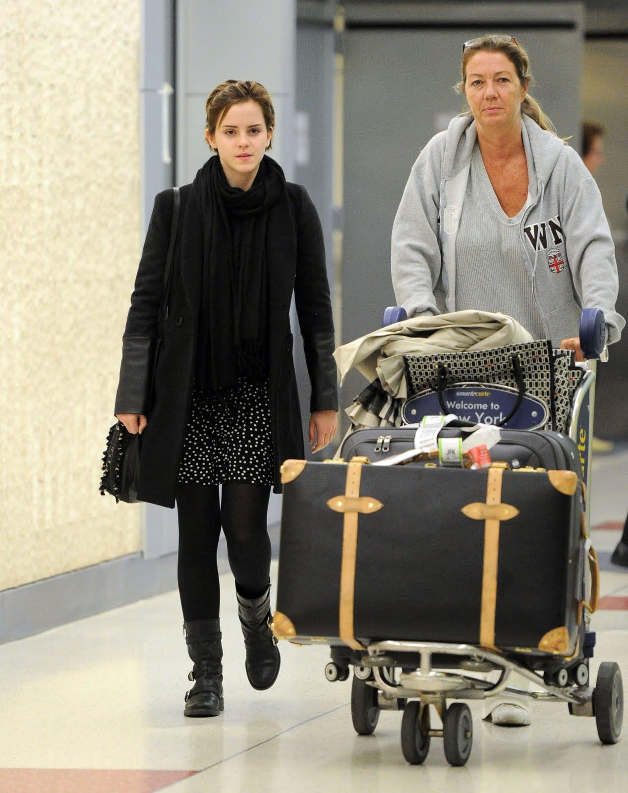 celine pouch clutch - Emma Watson Updates: September 2011