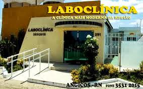 LABORATÓRIO – de segunda a sábado – expediente semanal: das 6 às 12 horas e das 14 às 17 horas e 30