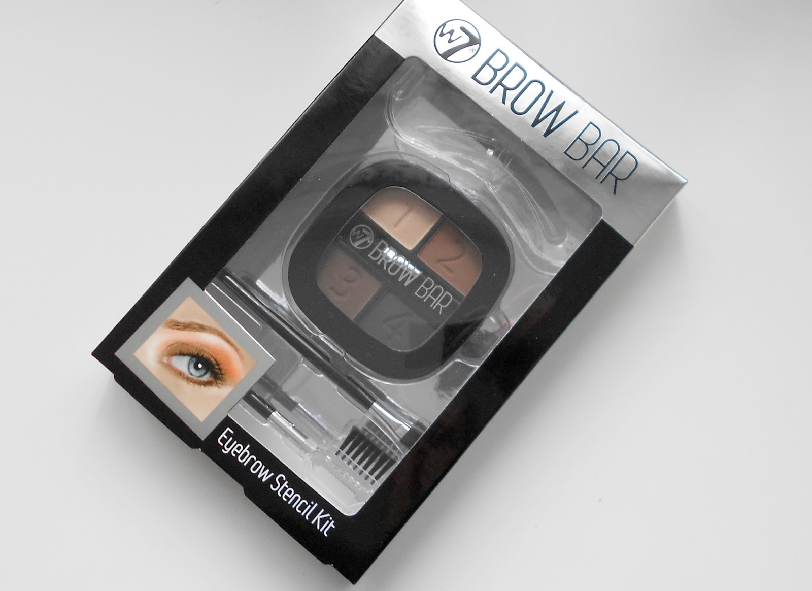 w7 brow bar eyebrow kit review swatches