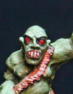 rostro de necrófago realizado por Gary Morley