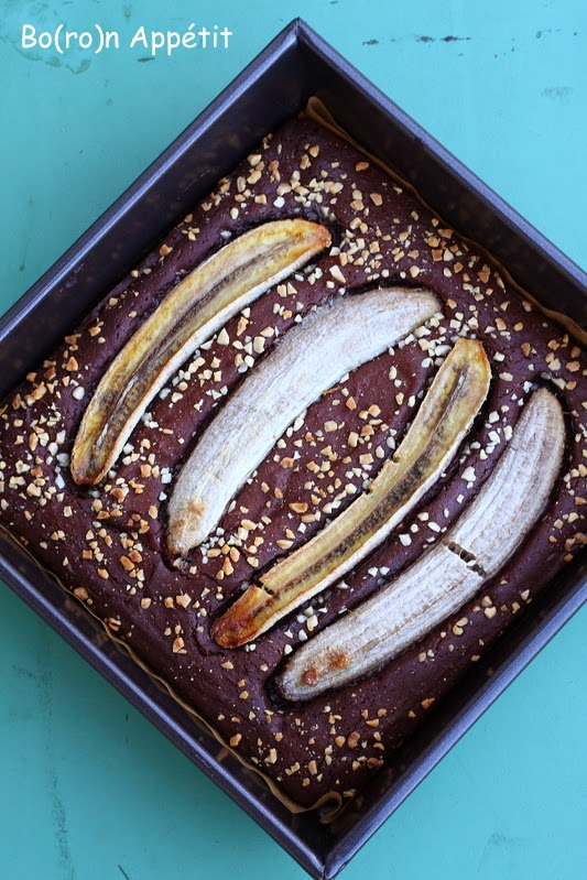 czekolada i banan