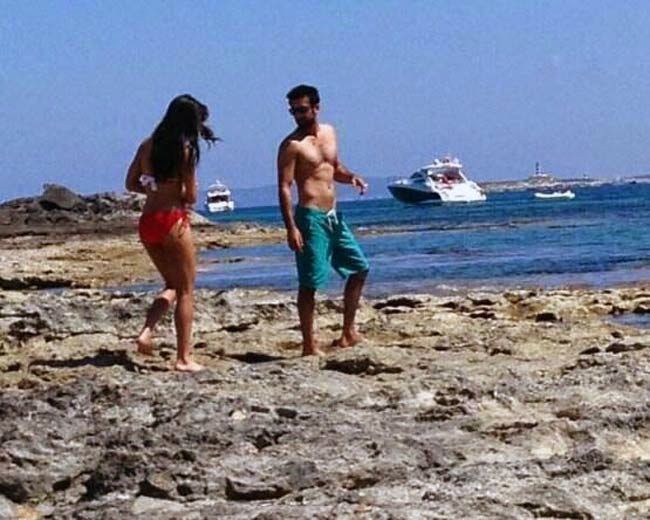 Katrina Kaif and Ranbir Kapoor Spain holiday bikini
