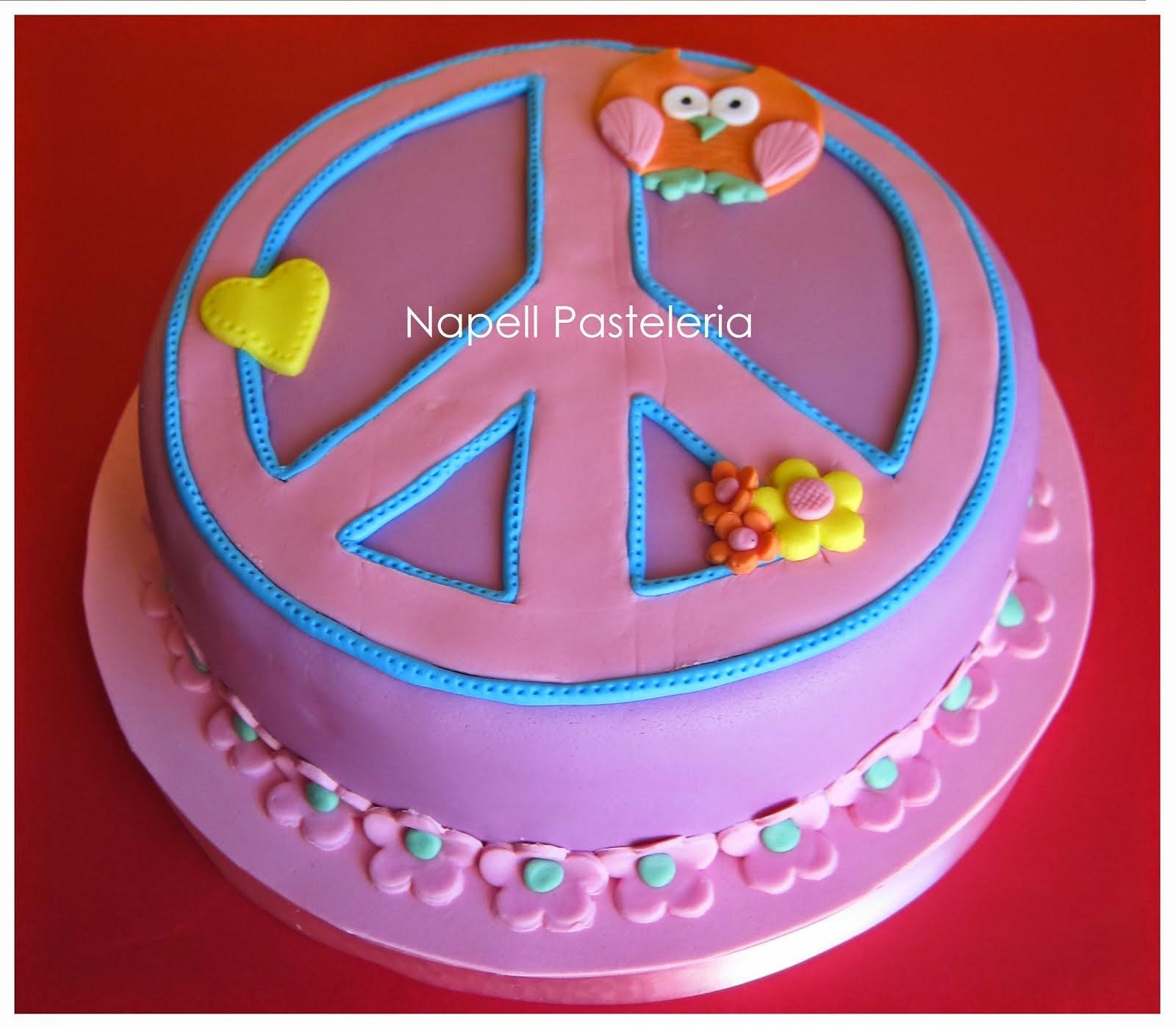 Torta Símbolo Paz