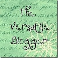 The Versatile Blogger Award...