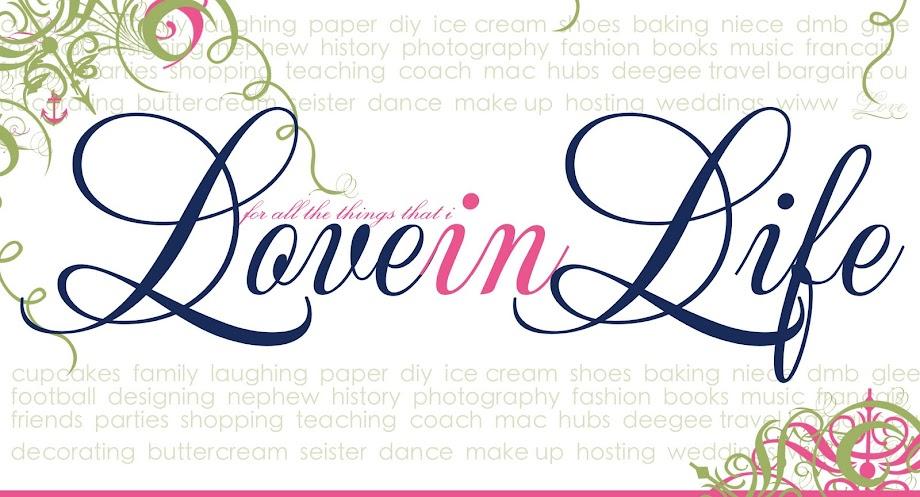 LOVEinLIFE