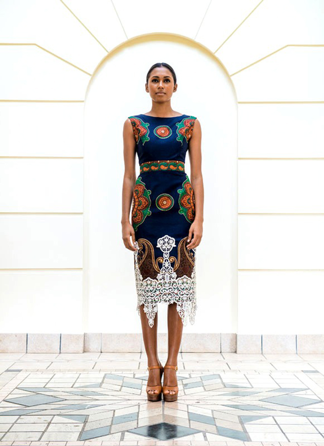 African style dress