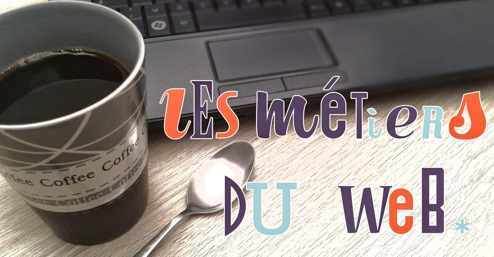 Les métiers de l'internet et du Web.