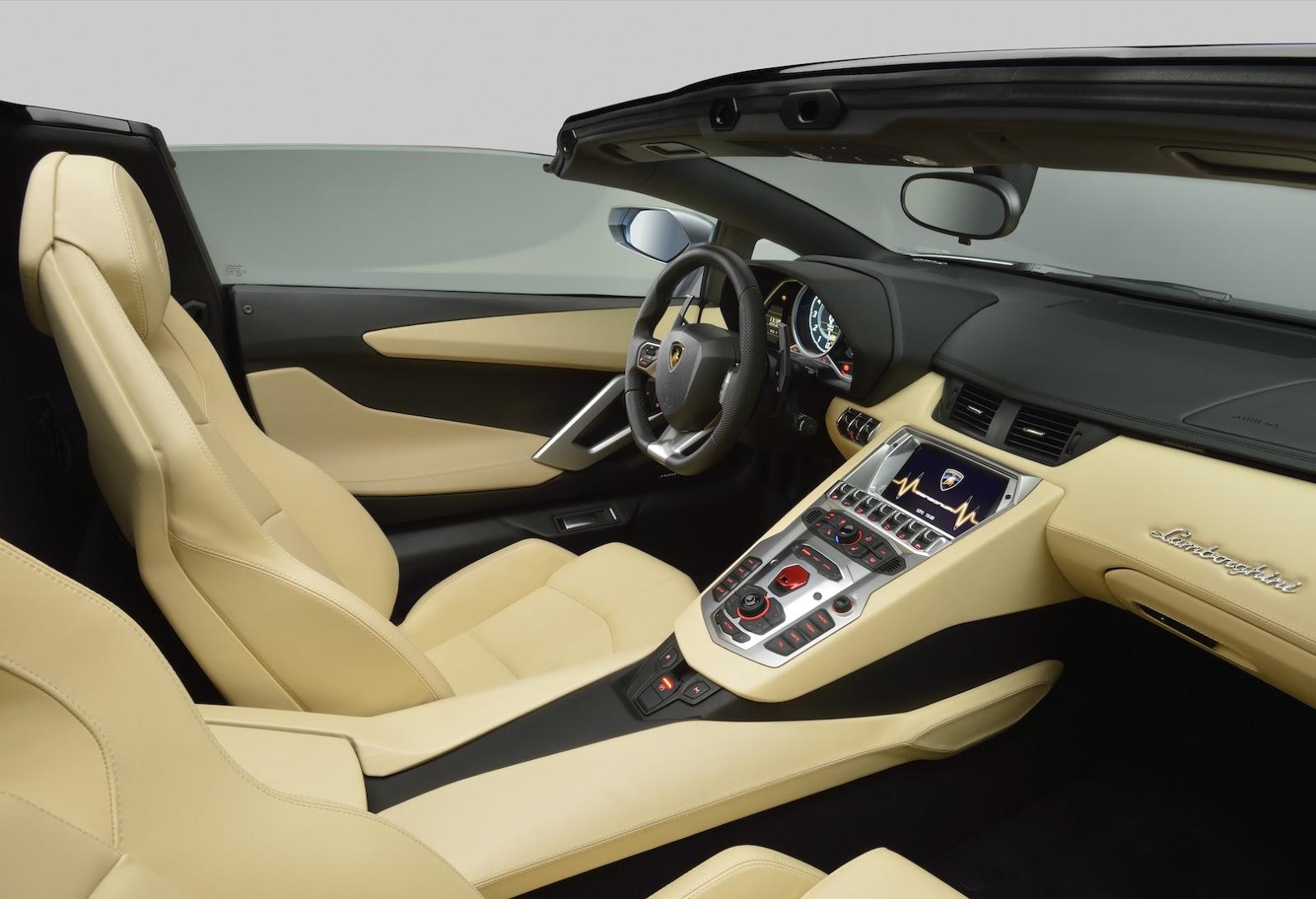 Lamborghini Aventador Roadster Lp 700 4 Convertible Gains Some