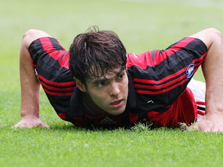Ricardo Kaka Lying on ground