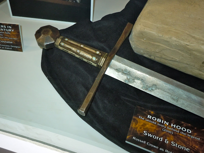 Robin Hood sword movie prop
