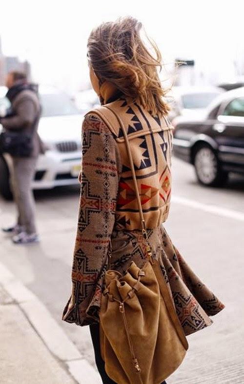 Customizar un abrigo clasico