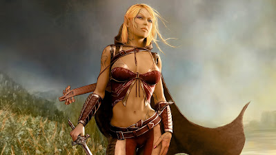 Female Elf Wallpaper