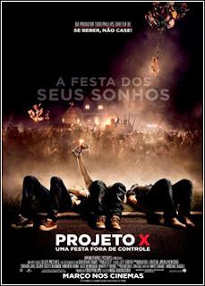 Download - Projeto X - Uma Festa Fora de Controle DVDRip - AVI - Dual Áudio