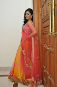 sri mukhi glam pix in half saree-thumbnail-2