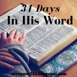 31 Days In His Word