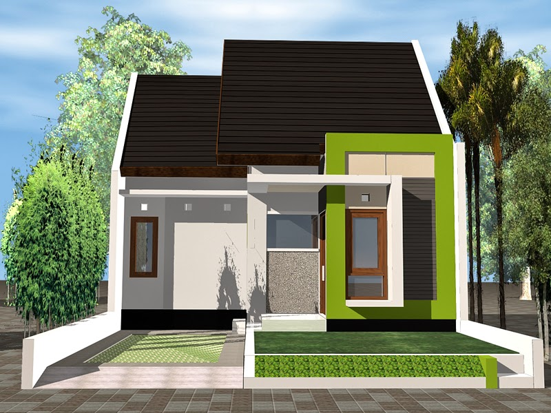Model Rumah Minimalis Sederhana dan Simpel