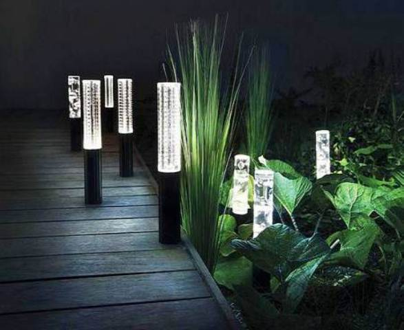 lampu hias taman: Contoh desain rumah terbaru minimalis sederhana 2016