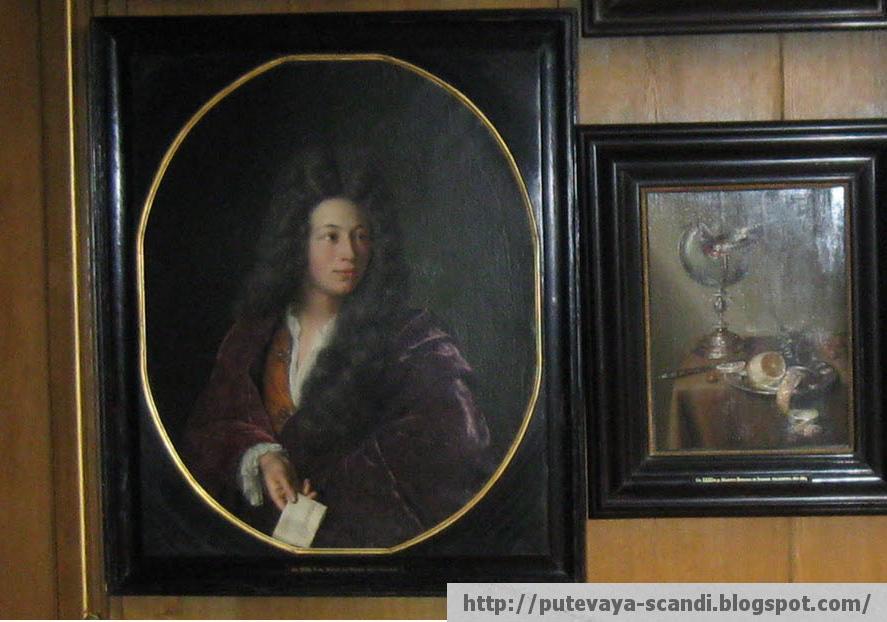 молодой человек в стиле барокко