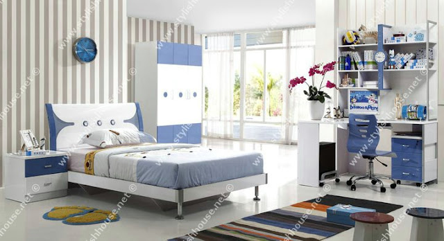 Stylish children bedroom furniture set