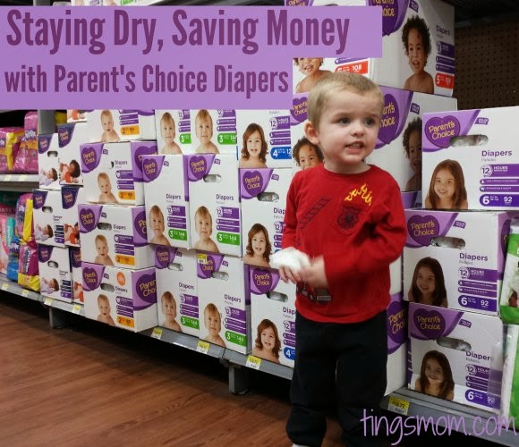 Staying Dry, Saving Money with Parent's Choice Diapers | #BabyDiapersSavings #CollectiveBias #shop