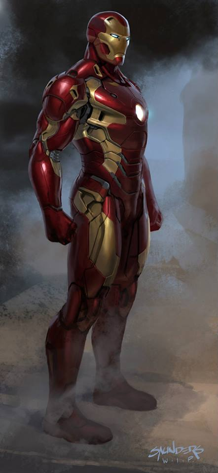 Iron Man 2 Suit Design