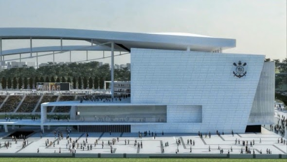 Estadio Arena San Pablo partido inaugural Mundial 2014