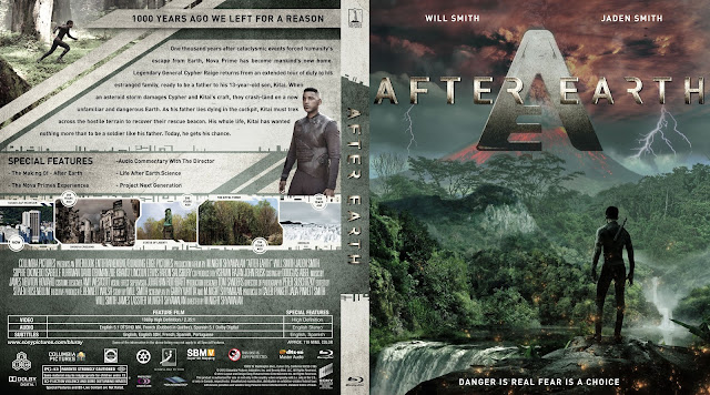 Capa Bluray After Earth (Depois Da Terra)