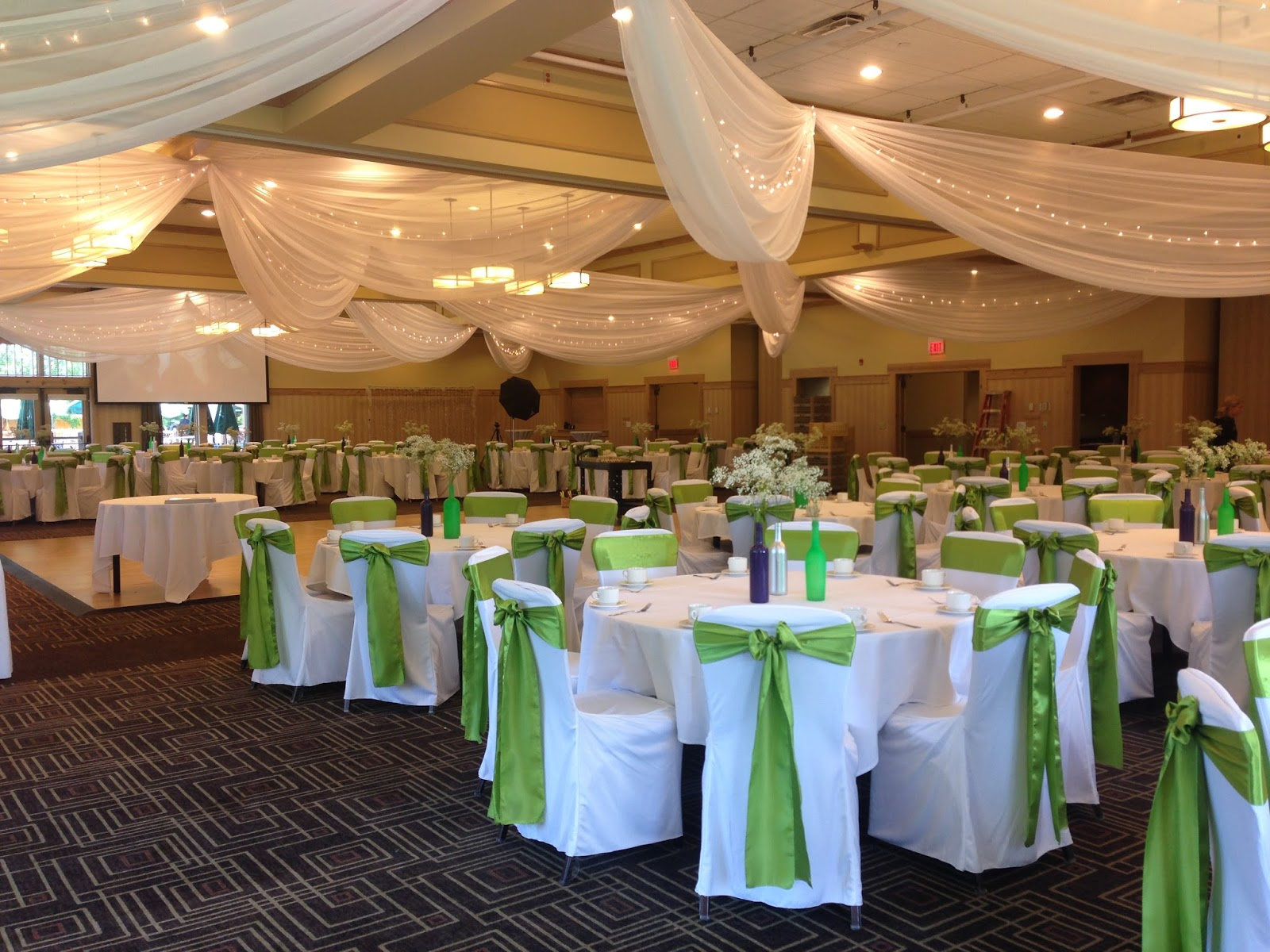 A Wedding Reception At Bunker Hills Golf Club Rapids Mn