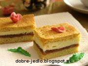 Jablkovo-tvarohový koláč - recept