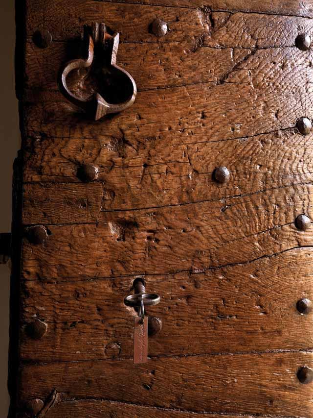 casa rural textura de madera envejecida puerta
