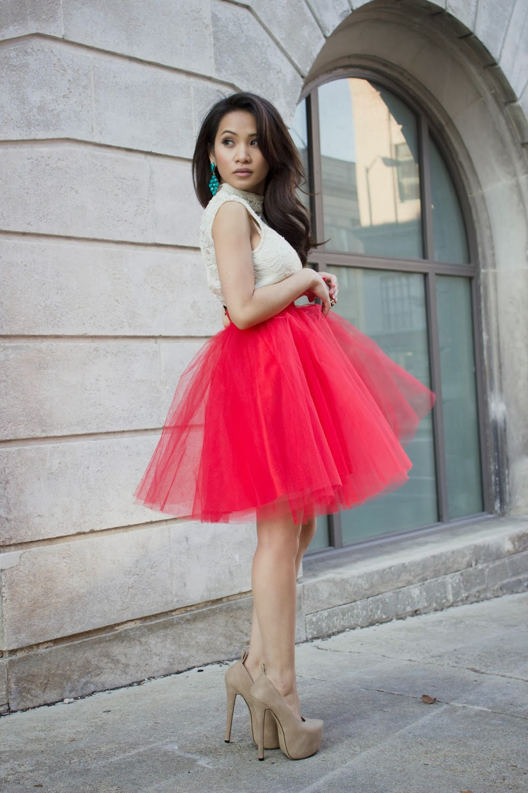 Tulle skirts, tutu skirts, fashion blogger, melba nguyen, tulle skirt pairing, fendi purse, christmas outfit ideas, styling tulle skirts