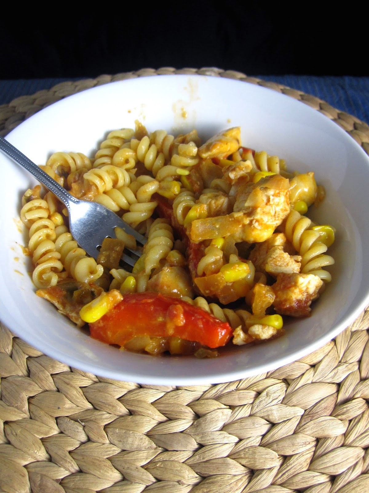 Chicken and Salsa Pasta
