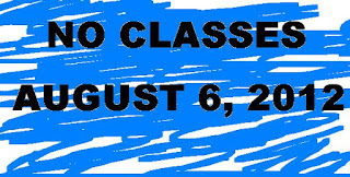 Class Suspensions August 6, 2012.