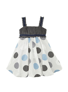 MyHabit: Up to 60% off Designer Deals for Girls: Monnalisa Girl's Embroidered Dot Bubble Dress